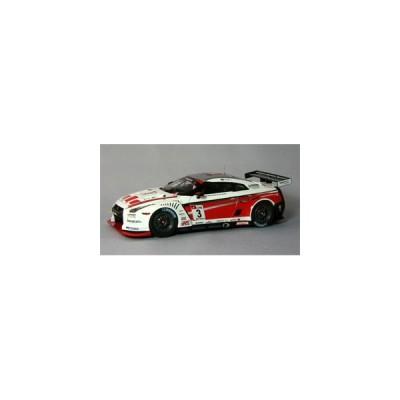 EBBRO 1/ 43 ニッサン GT-R GT1 2010 Swiss Racing Team #3 ホワイト/ レッド(44355)ミニカー 返品種別B