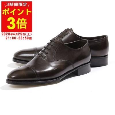 JOHN LOBB ジョンロブ PHILIP 2 MUSEUM CALF 506180L 7000 E フィリップ2 レザーシューズ オックスフォード 革靴 ビジネス DARK-BROWN 靴 メンズ