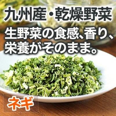乾燥野菜 ネギ 安心 安全 国産野菜 【メール便対応】