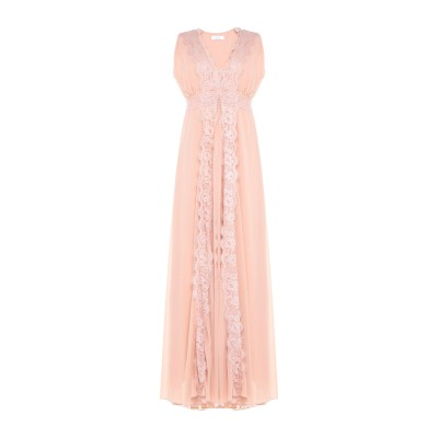 カオス KAOS ロングワンピース&ドレス ローズピンク 42 ポリエステル 100% ロングワンピース&ドレス