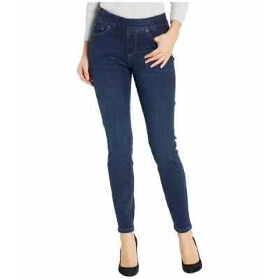ジャグジーンズ デニム ボトムス レディース Maya Skinny Pull-On Jeans in Deluxe Denim Pacific Blue