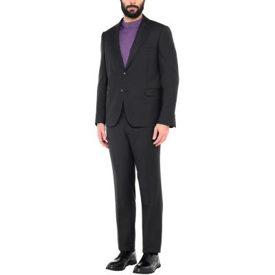 DOMENICO TAGLIENTE スーツ ブラック 54 ポリエステル 65% / レーヨン 35% スーツ