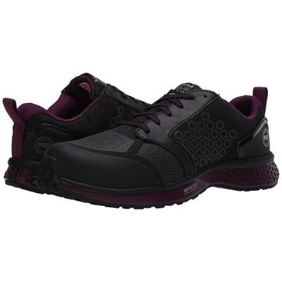 ティンバーランド Reaxion Composite Safety Toe レディース スニーカー Black/Purple