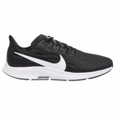 ナイキ メンズ スニーカー Nike Air Zoom Pegasus 36 ランニングシューズ Black/White/Thunder Grey