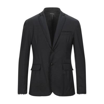 メッサジェリエ MESSAGERIE テーラードジャケット ブラック 48 バージンウール 80% / ウール 18% / ポリウレタン 2% テー