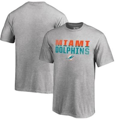"""キッズ Tシャツ """"Miami Dolphins"""" NFL Pro Line by Fanatics Branded Youth Iconic Collection Fade Out T-Shirt - Ash"""