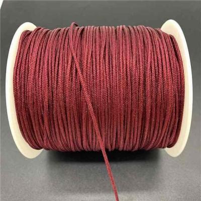 0.5/0.8/1.0/1.5ミリメートルdeepred ナイロン コード糸中国結マクラメコード ブレスレット 編組文字列シャンバラ ロープ