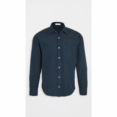 セーブカーキユナイテッド Save Khaki メンズ シャツ トップス poplin standard shirt Navy