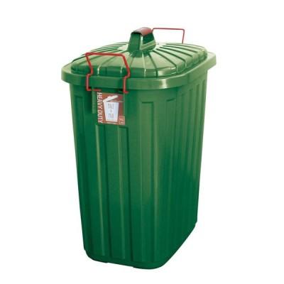 SPICE PALE×PAIL ふた付きゴミ箱 フォレストグリーン 60L IWLY4010FG ゴミ箱