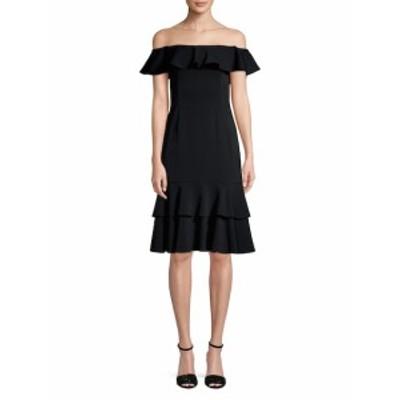 ジェイゴッドフリー レディース ワンピース Off-The-Shoulder Ruffle Dress