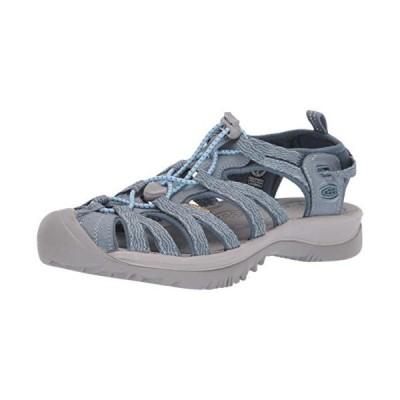 KEEN Women's Whisper Sandal, Citadel/blue mirage, 6 M US