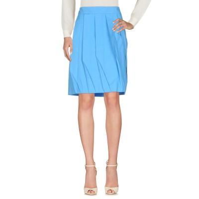 アティピコ AT.P.CO ひざ丈スカート アジュールブルー 42 コットン 100% ひざ丈スカート