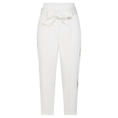 リュー ジョー LIU •JO パンツ ホワイト 40 コットン 97% / ポリウレタン 3% パンツ