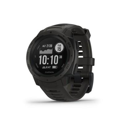 ガーミン レディース 腕時計 アクセサリー Unisex Instinct Graphite Silicone Strap Smart Watch 23mm