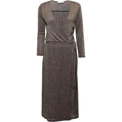 グレート プレインス Great Plains レディース ワンピース Vネック ラップドレス ワンピース・ドレス Ivy Jersey V Neck Wrap Dress Black/Gold