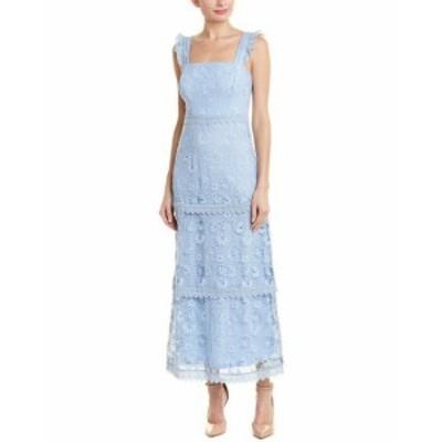 Maxi  ファッション ドレス Just Me Lace Maxi Dress