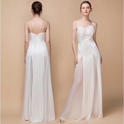 ワンピース レディースワンピ パーティードレス 結婚式ドレス ウェディングドレス 花嫁 ノースリーブ 二次会 お呼ばれ キレイめ レディースワンピ かわいい