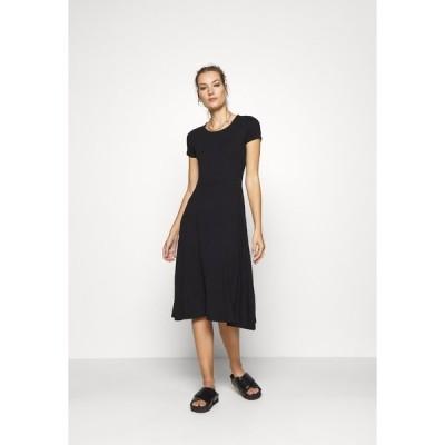 ジン ワンピース レディース トップス Jersey dress - black