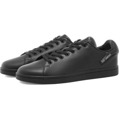 ラフ シモンズ Raf Simons メンズ スニーカー シューズ・靴 orion leather cupsole Black