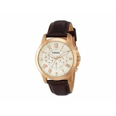 フォッシル メンズ 腕時計 アクセサリー Grant - FS4991IE Brown