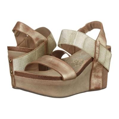 オーティービーティー レディース サンダル・ミュール シューズ・靴 Bushnell Gold