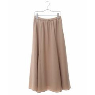 HIROKO BIS(ヒロコビス)【洗える】フレアロングスカート【お取り寄せ商品】