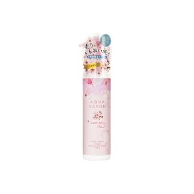 アクアシャボン AQUA SAVON トータルマルチクリーム サクラフローラルの香り 20S 230g 【あすつく】