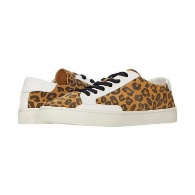 Soludos ソルドス レディース 女性用 シューズ 靴 スニーカー 運動靴 Ibiza Suede Sneaker - Leopard