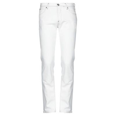 ロイ ロジャース ROŸ ROGER'S パンツ ホワイト 28 コットン 98% / ポリウレタン 2% パンツ