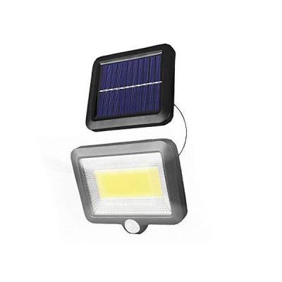 BRAVE 5mコード付き 分離型 COB型 100LED ソーラーライト 太陽光 夜間自動点灯 IP65 防水 庭 駐車場 ガーデン 防犯 MV-BV