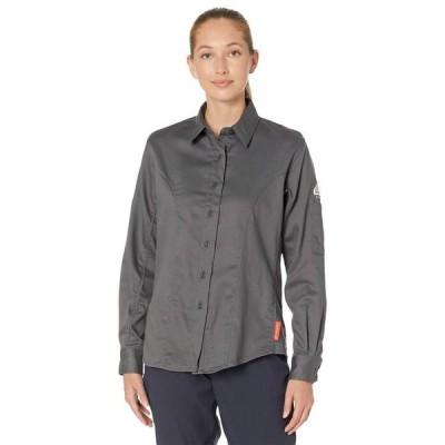 ブルワーク レディース シャツ トップス iQ Series Comfort Woven Long Sleeve Shirt