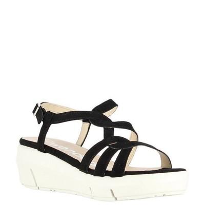 ワンダーズ レディース サンダル シューズ Lynn Suede Extra Light Platform Wedge Sandals