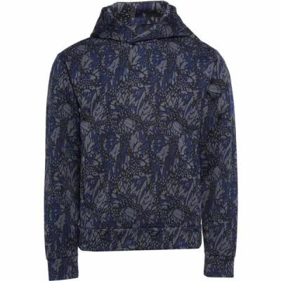 アルマーニ EMPORIO ARMANI メンズ パーカー トップス hooded sweatshirt Blue