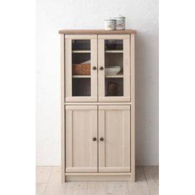食器棚 おしゃれ 北欧 安い キッチン 収納 棚 ラック 木製 大容量 カップボード ダイニングボード ( コンパクト食器棚 約 幅60 奥行40 高