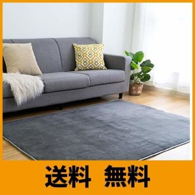 VK Living カーペット ラグ 洗える 滑り止め付 防ダニ 抗菌 防臭 185×185cm(約2畳) 12色選べる 1年中使えるタイプ 床暖房