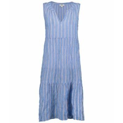 デイランバイトゥルーグリット レディース ワンピース トップス Clean & Crisp Classic Stripe Dress Blue/Red
