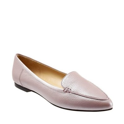 トロッターズ レディース パンプス シューズ Ember Pearlized Leather Loafers