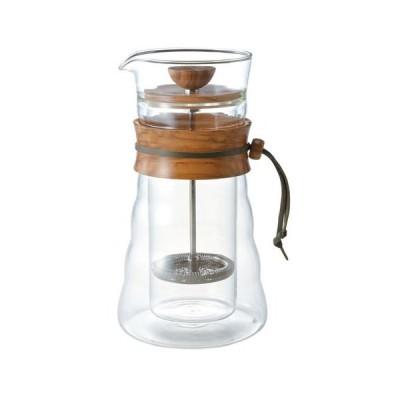 【送料無料】 HARIO(ハリオ) プレス式コーヒーメーカー ダブルグラス コーヒープレス DGC-40-OV