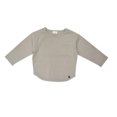 ベビーザらス限定 RAT-A-TATR ラッタッタ 長袖Tシャツ ポケット付き (カーキ×95cm)