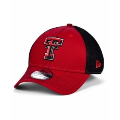 ニューエラ メンズ 帽子 アクセサリー Texas Tech Red Raiders 2 Tone Neo Cap Red