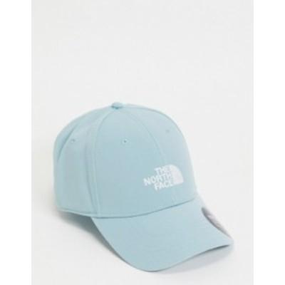 ノースフェイス レディース 帽子 アクセサリー The North Face Recycled 66 Classic cap in blue Tourmaline blue