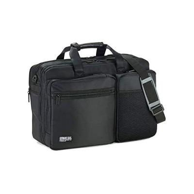平野鞄 ビジネスバッグ メンズ 3way 大容量 軽量 出張 A4 B4 自立 ノート ショルダーベルト キャリーオン マチ拡張 2室 多機能 横幅