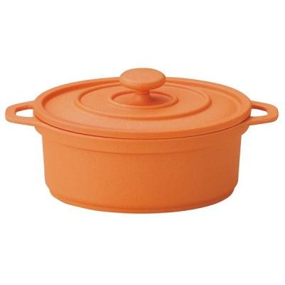 SPS樹脂製 ミニココ オーバル 小 M11-291 オレンジ