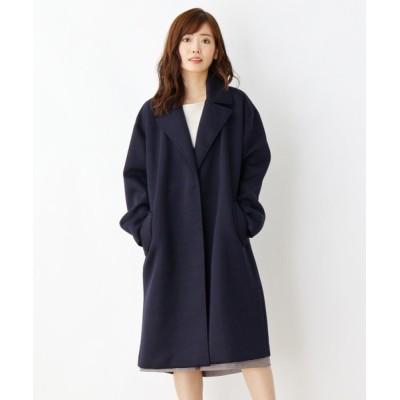 SOUP / 【大きいサイズあり・13号・15号】カットボンディングリバーコート WOMEN ジャケット/アウター > チェスターコート