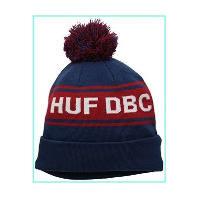 HUF Men's DBC Pom Beanie, Navy, One Size並行輸入品