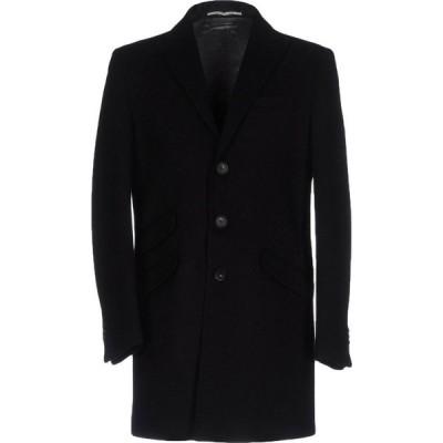 エクシビット EXIBIT メンズ コート アウター coat Black