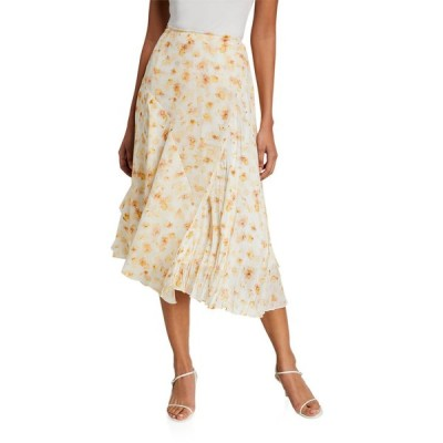 ヴィンス レディース スカート ボトムス Pressed Petal Panel Skirt