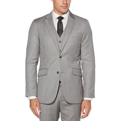ペリーエリス メンズ ジャケット・ブルゾン アウター Slim-Fit Herringbone Suit Separates Jacket