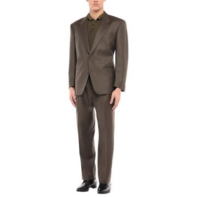 LUBIAM スーツ ミリタリーグリーン 52 バージンウール スーツ