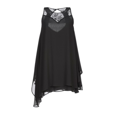 ブルーガール ブルマリン BLUGIRL BLUMARINE ミニワンピース&ドレス ブラック 40 ポリエステル 100% / レーヨン / ナイ